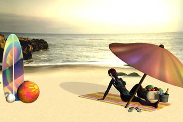 Hot Summer Sun by XullraeZauviir