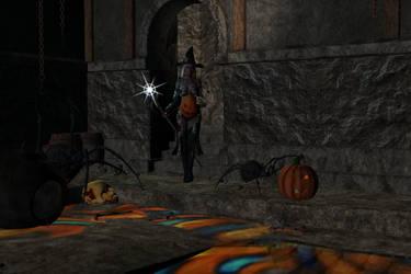Halloween baby bump by XullraeZauviir