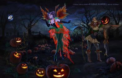 An Enchanting Halloween 2014 by XullraeZauviir