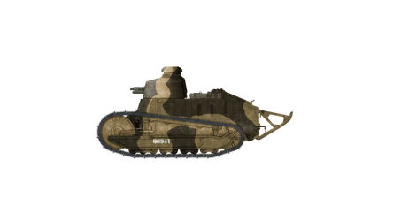 Italian Renault FT by Escodrion