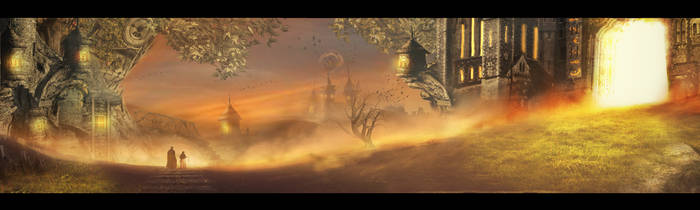 The Village by Borruen
