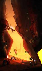 Mechopolis: Enter Junktown by Borruen