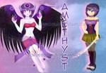 Rosario + Vampire Contest - Amethyst by LordessSkadi