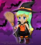 Happy Halloween - Point Commission by LordessSkadi