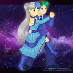 Eda and Al - Tango - Point Commission by LordessSkadi