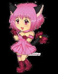Tokyo Mew Mew - Ichigo Chibi by LordessSkadi