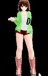 MMD model Chara StoryShift [ DL+ !!] by poi789
