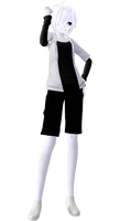 MMD model Cross!Chara - X-Event!Cross Chara [DL+] by poi789