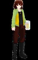 MMD model Drunk Chara [DL+] by poi789