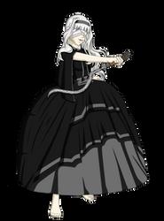 Commission: MinervaBlackwald by MagicCrazyMagician