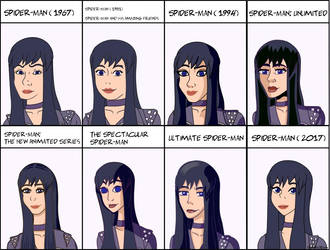 Bella: Different Show Styles by MagicCrazyMagician