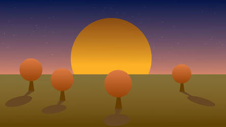 A New Day - VECTOR ART by AngusWW