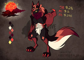 Super Blood Wolf Moon Adopt Auction [OPEN] by Radioactive-Acid