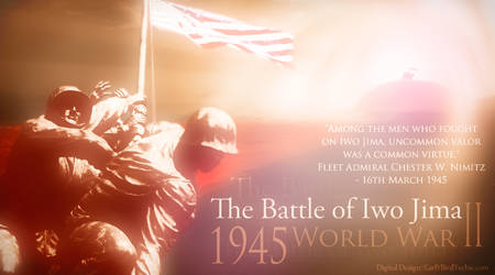 Battle of Iwo Jima - by EarlYBirdTechie