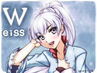 RWBY - Weiss Schnee by muutya