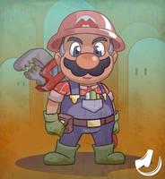 Mario, the Plumber by JINNdev