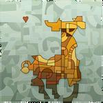 Deviantart 16th Birthday llama! by JINNdev