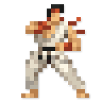 Day #182 - Ryu by JINNdev