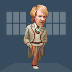 Doctober - 5th Doctor by JINNdev