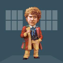 Doctober - 6th Doctor by JINNdev