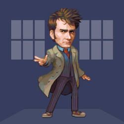 Doctober - 10th Doctor by JINNdev