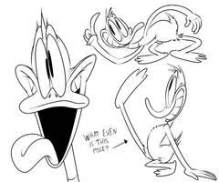 Daffy Doodles by NightlyComet