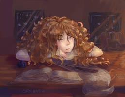 Hermione by orkinas