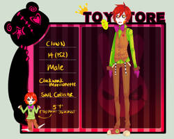 TS: Clown - Loyal by MikachuKuro