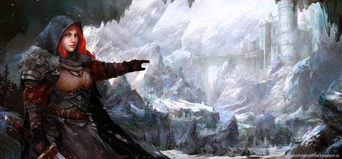 Winter Warrior by Allnamesinuse