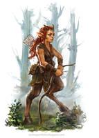 Deerwoman by Allnamesinuse