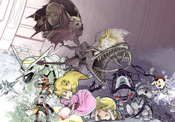 Super Smash Bros. Brawl by MaximoVLorenzo