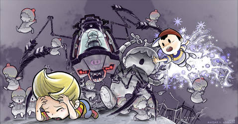 Earthbound Lucas Ness by MaximoVLorenzo