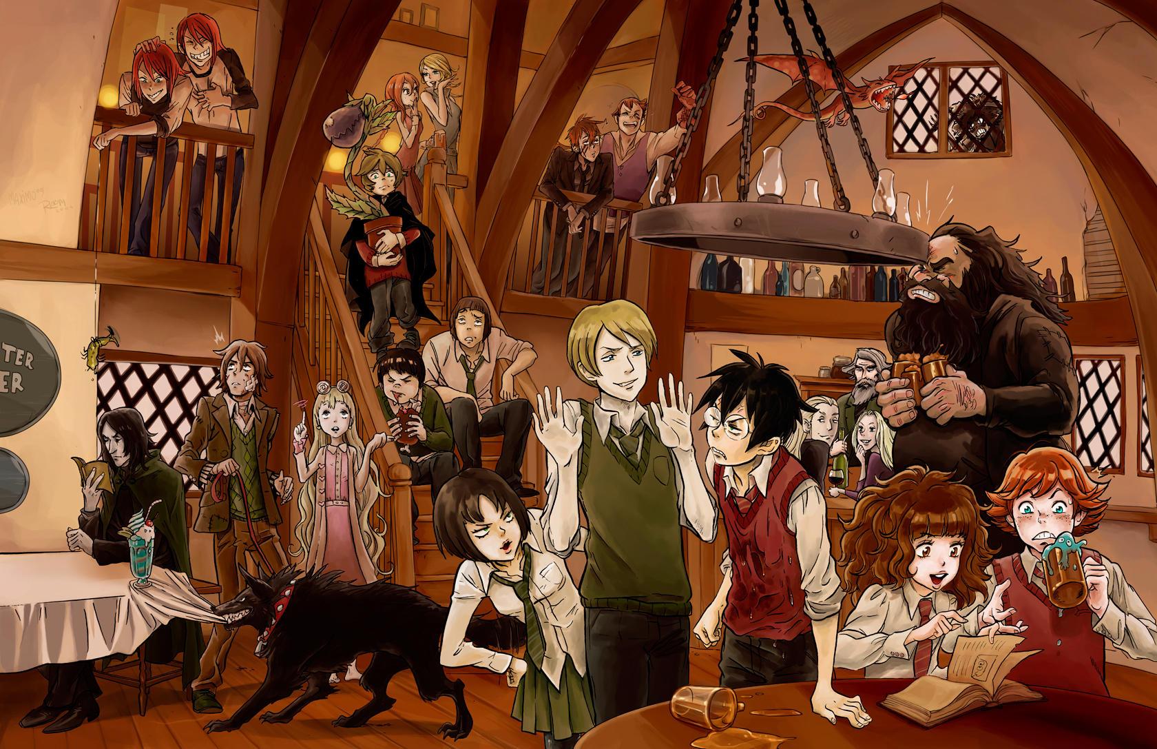 Harry Potter by MaximoVLorenzo