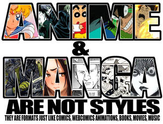 Anime and Manga by MaximoVLorenzo
