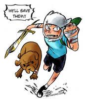 Adventure Time by MaximoVLorenzo