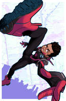 Miles Morales by MaximoVLorenzo