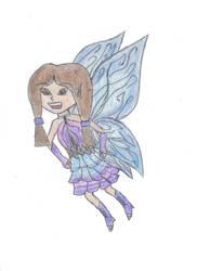 Blue Fairy by VentusAquaTerra