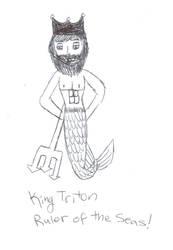King Triton Ruler of the Seas by VentusAquaTerra