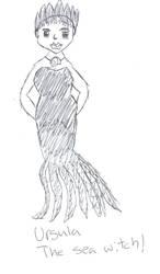 Ursula the Sea Witch by VentusAquaTerra