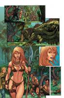 Jungle Girl page 4 by GiovaniKososki