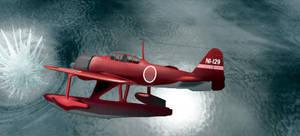 Rufe seaplane by hugegadjit