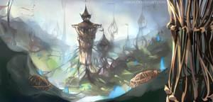 Spires of Eden by Amreio