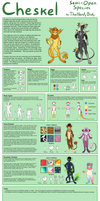 Cheskel Species Guide by TheNerdyBirdy