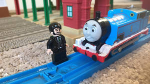 Sir Ringo Starr with Thomas the Tank Engine by RedEngineTommy8