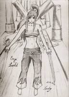 Erza Scarlet - Fairy Tail by sathilium-airdnis