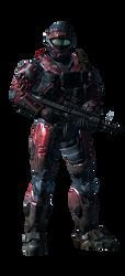 my halo reach spartan 2 by Lycan93