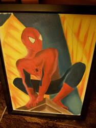 Spiderman by babyshortie17