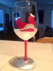 Drunk Santa by babyshortie17