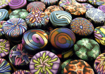 Polymer Clay Beads by Create-A-Pendant