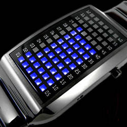 Futuristic LED Watch by Create-A-Pendant